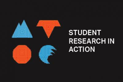 Student Research in Action Graphic